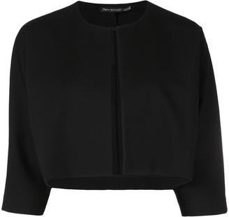 Josie Natori cropped jacket