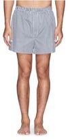 Sunspel Mini gingham check boxer shorts