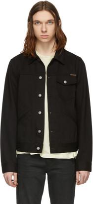 Nudie Jeans Black Denim Tommy Jacket