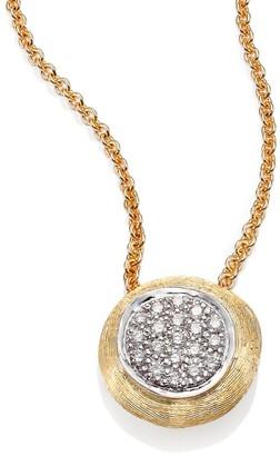 Marco Bicego Delicati Diamond, 18K Yellow & White Gold Pendant Necklace