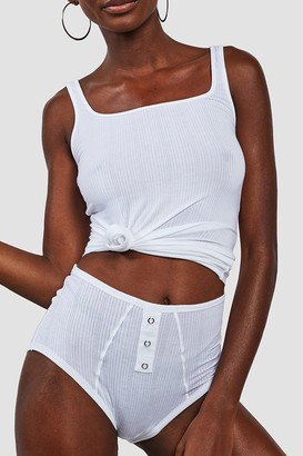 Negative Underwear Whipped A-Top in White