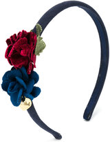 Le Bebé Enfant rose embellished hairband