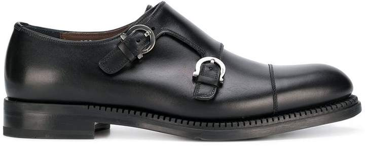 Salvatore Ferragamo Gancio buckle derby shoes