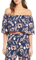 Leith Women's Strapless Off The Shoulder Blouse