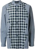 Christopher Kane multi patchwork shirt