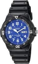 Casio Men's 'Classic' Quartz Resin Automatic Watch, Color: (Model: MRW200H-2B2V)