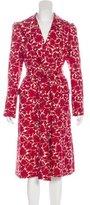 Derek Lam Silk Printed Coat
