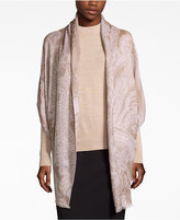 INC International Concepts Tranquil Scale Jacquard Scarf, Only at Macy's