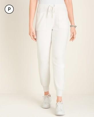 Petite Cotton-Cashmere Blend Cozy Jogger Pants