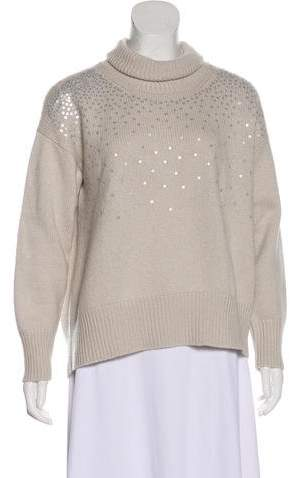 Fabiana Filippi Sequined Cashmere Sweater
