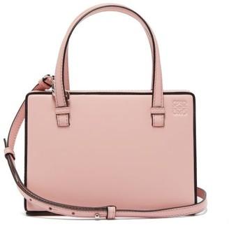 Loewe Postal Small Leather Bag - Pink