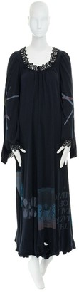 Undercover Black Cotton Dress for Women
