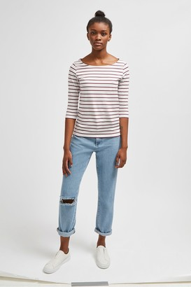 French Connection Tim Tim Striped T-Shirt
