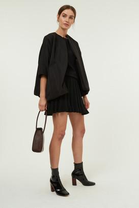 Jovonna London Black Charleen Oversized Jacket - ONE SIZE
