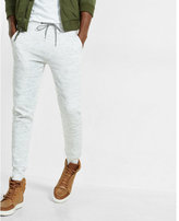 Express space dyed double knit jogger pant