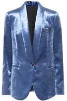Brunello Cucinelli Cotton-blend velvet jacket