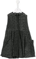 Lost And Found Kids - perforated shirt dress - kids - Cotton - 2 yrs