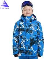 Vector Windproof Waterproof Kids Warm Hooded Winter Coat Snowboard Ski Jacket XL