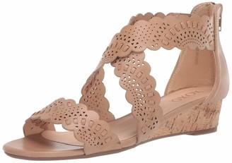 XOXO Women's Sliver Wedge Sandal