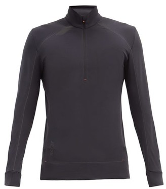 Soar - Mid-temperature 3.0 Zipped Running Top - Black