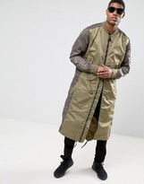 MHI MA1 Longline Jacket With Fishtail