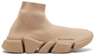 Balenciaga Speed 2.0 Trainers - Beige