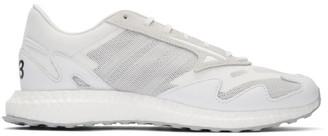 Y-3 Y 3 White Rhisu Run Sneakers