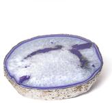 Jonathan Adler Purple and Silver Agate Trivet