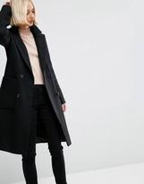 Asos Wool Blend Coat in Classic Fit