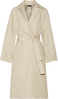 The Row Trentz Cotton-blend Poplin Trench Coat - Beige