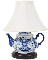Dei Blue and White Teapot Lamp