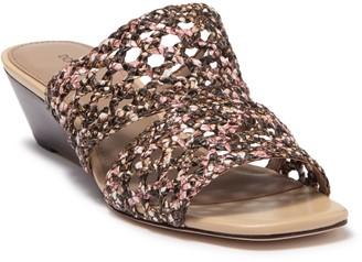 Donald J Pliner Albi Woven Slide Sandal - Narrow Width Available