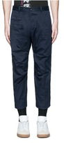 DSQUARED2 'Tizzy' cropped cotton chinos