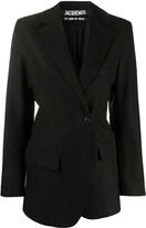 Jacquemus wrap front blazer