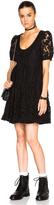Saint Laurent Lace Babydoll Dress