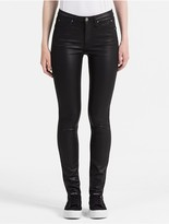 Calvin Klein Sculpted Black High Rise Skinny Jeans