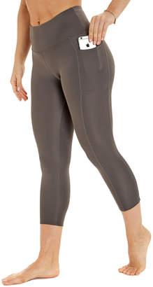 Bally Fitness Hr Flat Waist Pocket Capri Legging