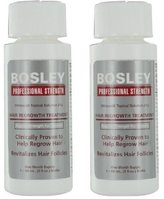 Bosley Professional Strength Hair Regrowth Treatment Regular Strength for Women (2 pack)