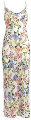 Alice + Olivia Alice+Olivia Harmony Floral Slip Dress