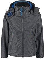 Superdry Summer Jacket Black Marl/denby Blue