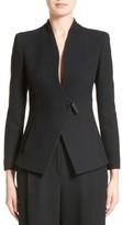 Armani Collezioni Women's Textured Stretch Wool Jacket