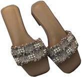 Goodnight Macaroon 'Pearly' Tweed Pearl Sandals (3 Color)