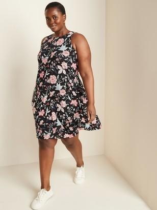 Old Navy Sleeveless Plus-Size Jersey Swing Dress