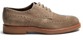 Brunello Cucinelli Lace-up suede brogues