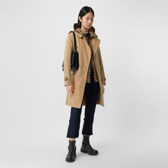Burberry The Midlength Kensington Heritage Trench Coat