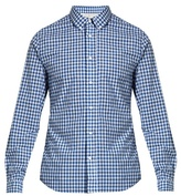 Acne Studios Isherwood Gingham Cotton Shirt