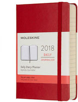 Moleskine NEW 2018 Pocket Red Hardcover Daily Diary