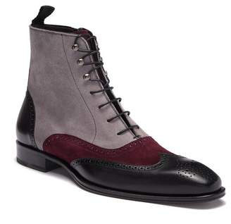 Mezlan Tall Suede Leather Boot