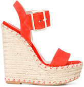 Elie Saab wedge sandals