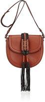 Altuzarra Women's Ghianda Knot Small Saddle Bag-BROWN